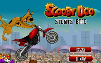 Scooby Doo Stunts Bike