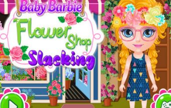 Baby Barbie Flower Shop Slacking