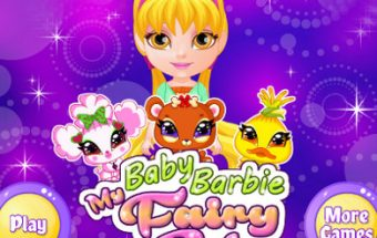 Baby Barbie Fairy Pet