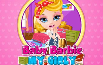 Baby Barbie my Girly Room Deco
