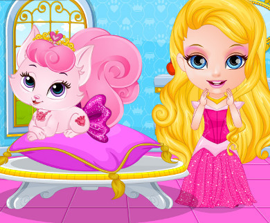 Baby Barbie Pets Beauty Pageant