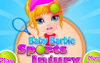 Baby Barbie Sports Injury