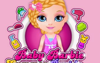 Baby Barbie Summer Braids