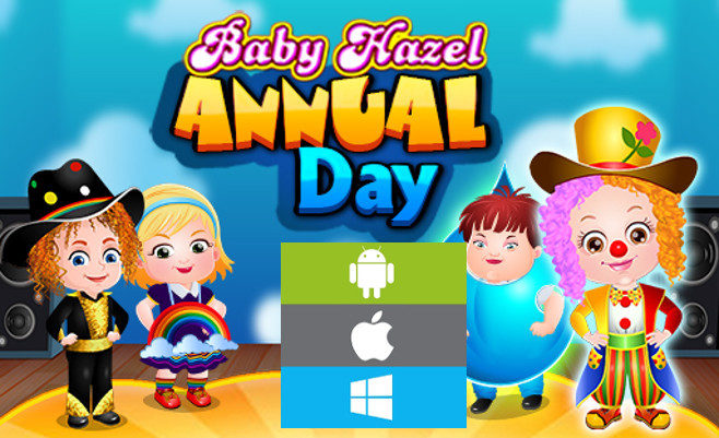 Baby Hazel Annual Day per Smartphone e PC