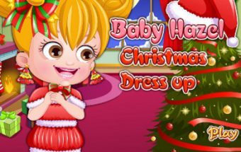 Baby Hazel Christmas Dress Up