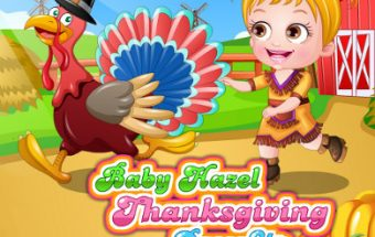 Baby Hazel Thanksgiving Day Dress Up