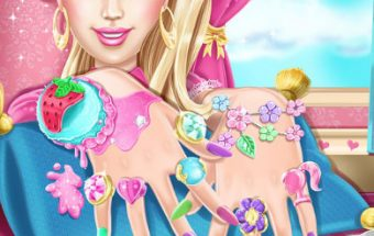 Barbie Nails Spa