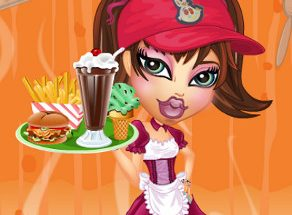 Bratz Waitress Dress Up