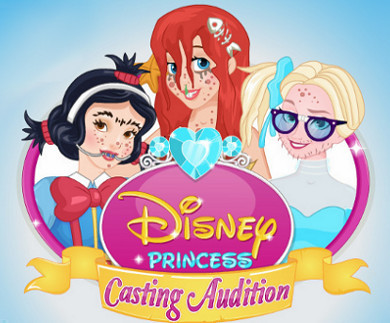 Disney Princess Casting Audition