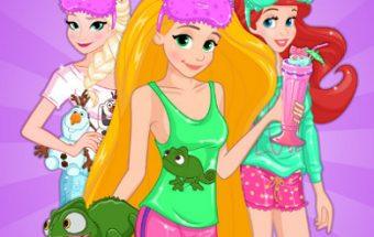 Disney Princess Pj Party