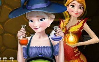 Elsa e Anna Superpower Potions