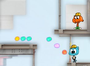 Gumball Hard Hat Hustle