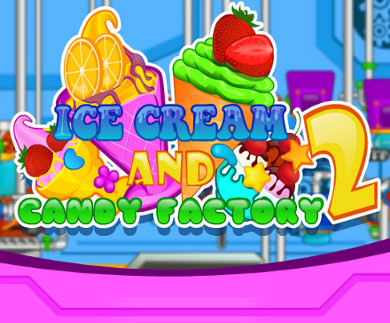 Ice Cream Candy Factory 2