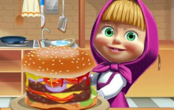 Masha Big Burger