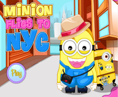 Minion Flies to NYC