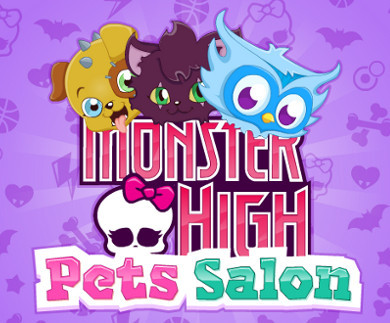 Monster High Pets Salon