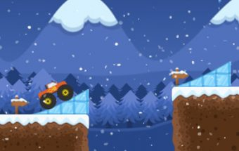 Monster Truck Winter Jump