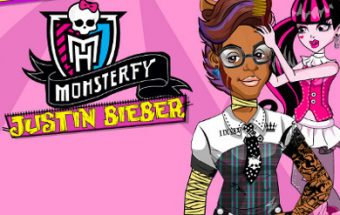 Monsterfy Justin Bieber