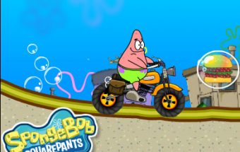 Patrick Star Climb Over Mountain