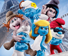 The Smurfs 2 Puzzle