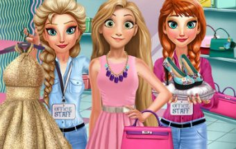 Rapunzel Shopping Day