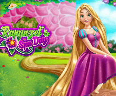 Rapunzel Spa Day