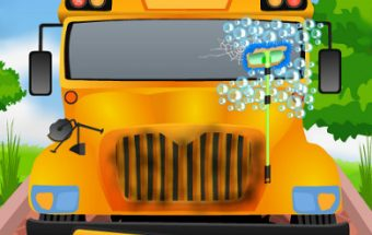 School Bus Cleaning