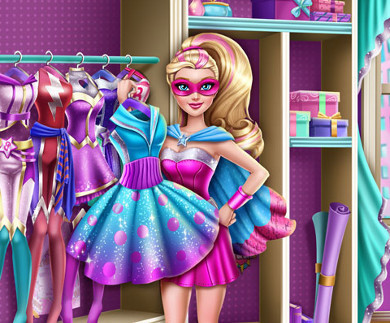 Super Barbie Closet