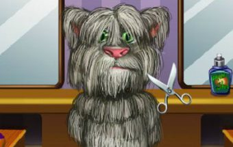 Talking Tom Cat Shaving
