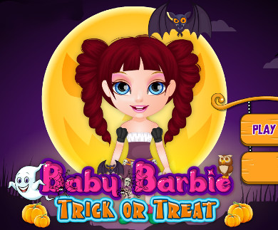 Baby Barbie Trick or Treat