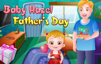 Baby Hazel Father's Day
