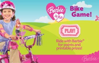 In Bicicletta con Barbie