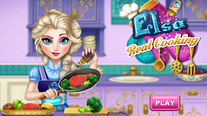 Elsa real cooking sperimenta nuove ricette in cucina for Nuove ricette cucina