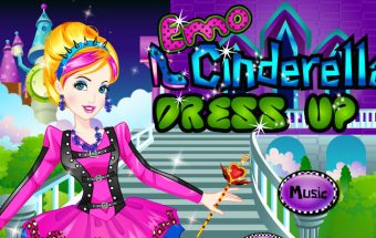 Emo Cinderella Dress Up