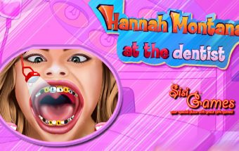Hannah Montana at the Dentist