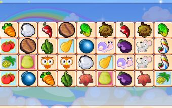 Mahjong Fruits Link Game 2