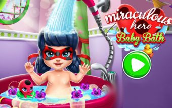 Miraculous Hero Baby Bath