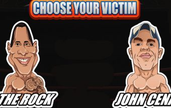 Slapathon - The Rock vs John Cena