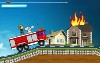Talking Tom Become Fireman
