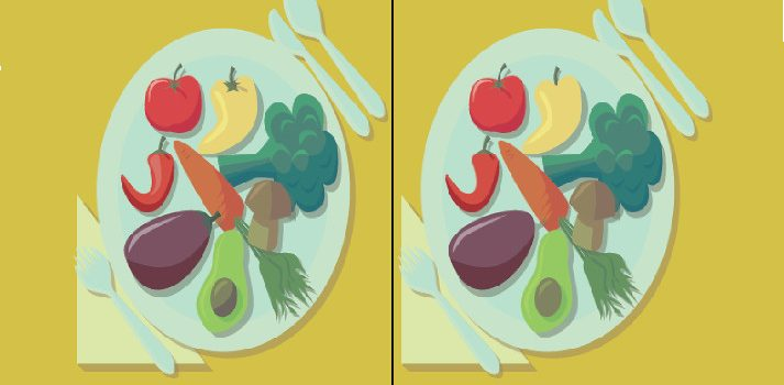 Vegetables Difference