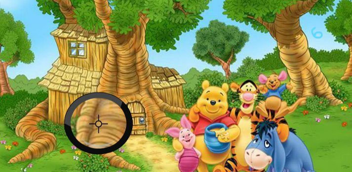 Winnie the Pooh Spot the Numbers