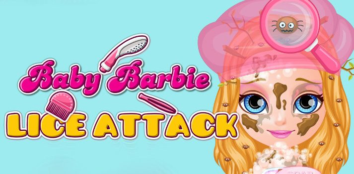 Baby Barbie Lice Attack