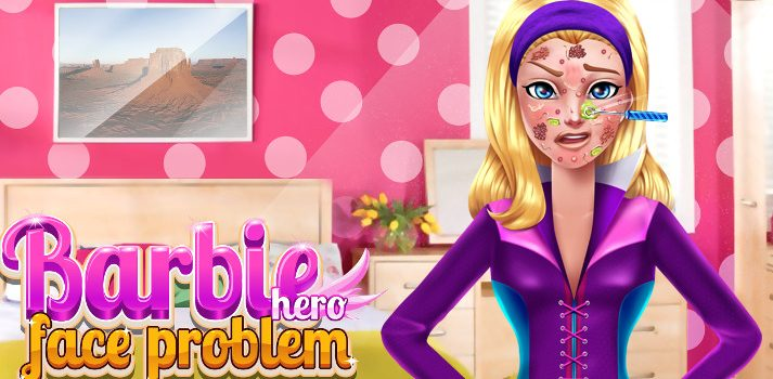 Barbie Super Principessa Face Problem