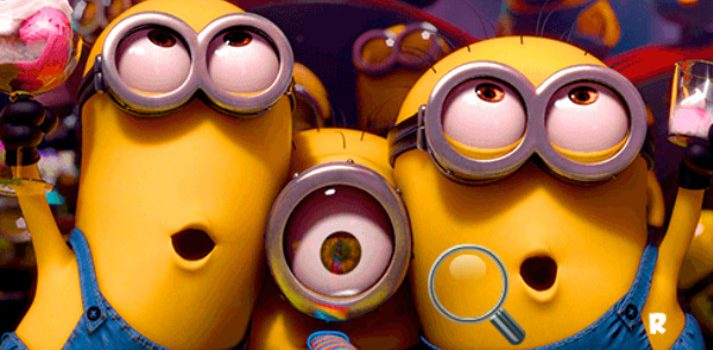 Minions Find the Alphabets