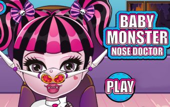 Baby Monster Nose Doctor