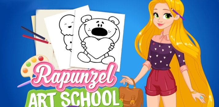 Rapunzel Art School