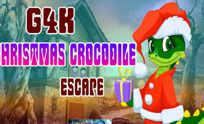 Christmas Crocodile Escape