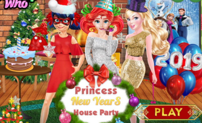 Princess New Years House Party