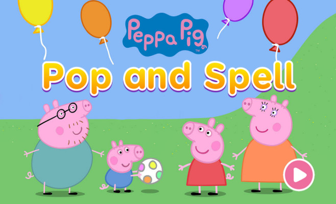 Peppa Pig Pop and Spell