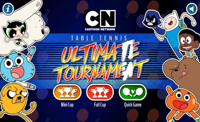 Gumball table tennis ultimate tournament ping pong con gumball co